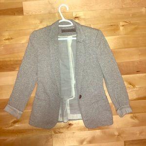 Zara blazer grey with cute rollup sleeves